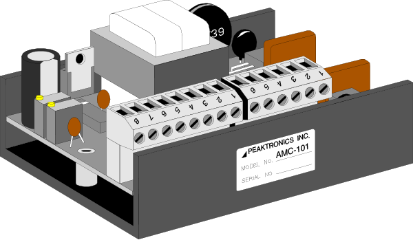 AC Motor Controllers from Peaktronics - Made in the USA - amc101