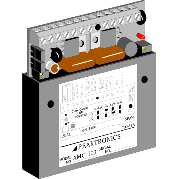 AC Motor Controllers from Peaktronics - Made in the USA - amc103