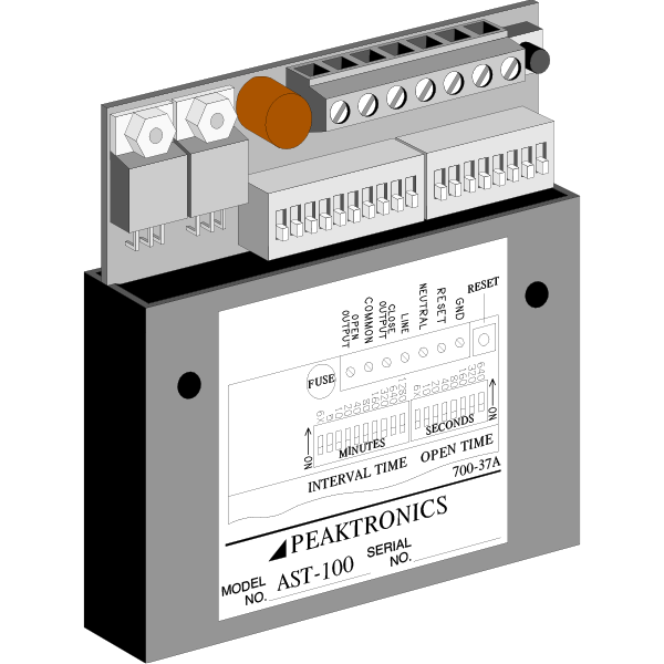 AC & DC Cycle and Sequence Timers: US Made | Peaktronics - ast100