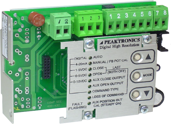 Digital High Resolution Controllers from Peaktronics: USA Made - dhc300