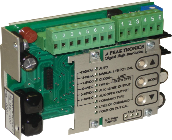 DC Digital Positioners: US Made Products | Peaktronics - dhc400