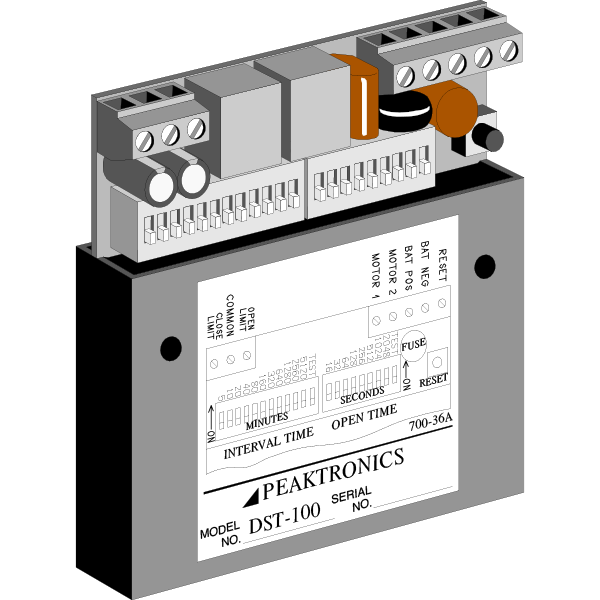 AC & DC Cycle and Sequence Timers: US Made | Peaktronics - dst100