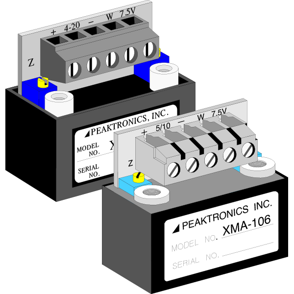Feedback Signal & Command Signal Products | Peaktronics - xma105